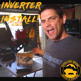 Overland Bound installs our Pure Line 1000W Inverter (Video)