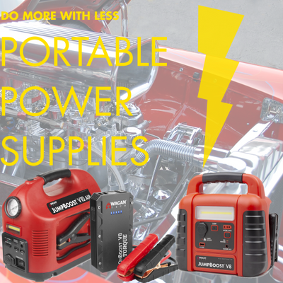 Do More with Less - Portable Power Supplies!