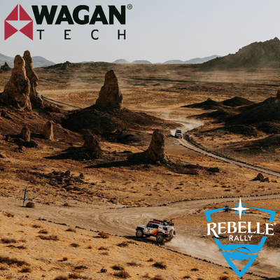 Wagan Tech Sponsors the Rebelle Rally & Team Waypoint Wanderers!
