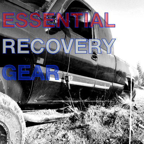Recovery Gear: The bare minimum you should be carrying!