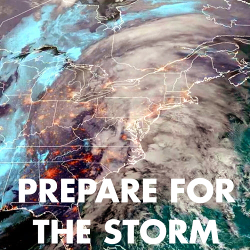 When storms hit, will you be left without power? Be Prepared.