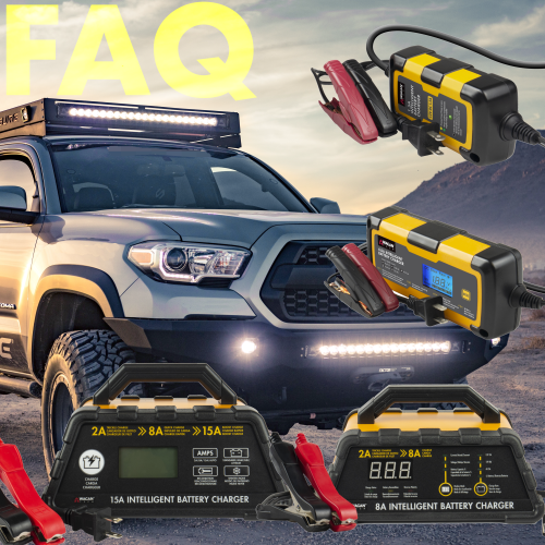 All about Intelligent Battery Chargers: Your Frequently Asked Questions (FAQ) - Answered!