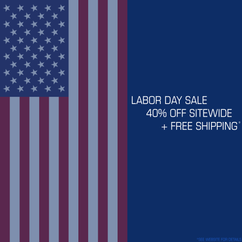Labor Day Sale 2020 - 40% off + Free Shipping