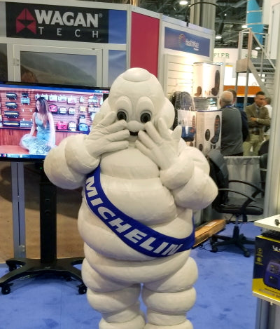 michelin man at wagan tech