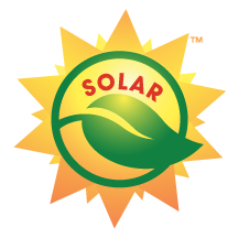 solar lighting logo
