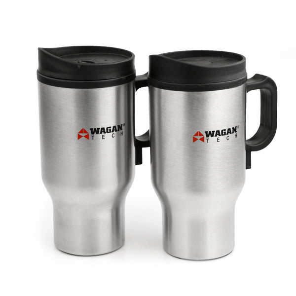 12V Heated Travel Mug 2-Pack