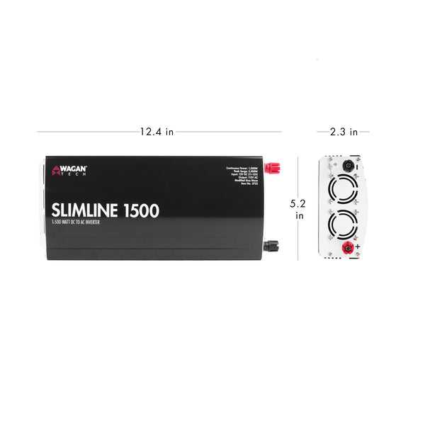 SlimLine AC Inverter 1500 Watt
