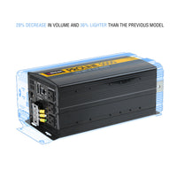 Wagan Tech - ProLine Power Inverters - 5,000W - size comparison