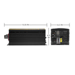 Wagan Tech - ProLine Power Inverters - 5,000W - dimensions