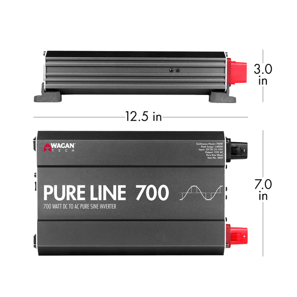 Pure Line Inverter 700 Watt (PSW)
