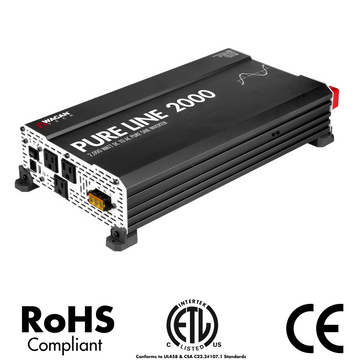 Pure Line Inverter 2000 Watt (PSW)