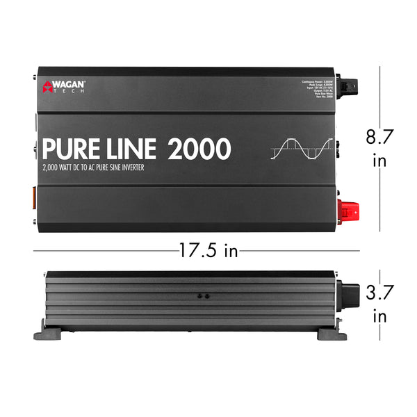Wagan Tech - Pure Line 2Kw Inverter -13