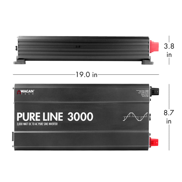 Wagan Tech - Pure Line 3Kw Inverter -8