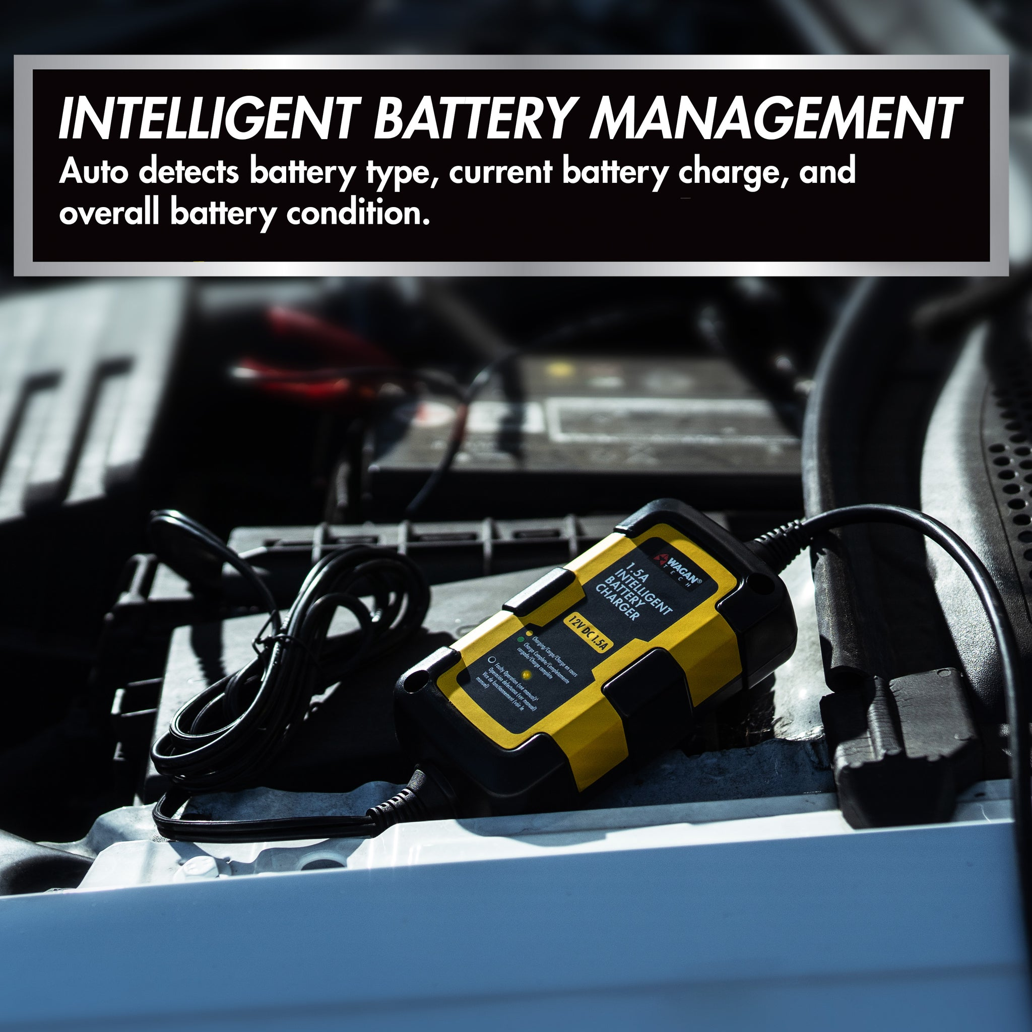 1.5A Intelligent Battery Charger
