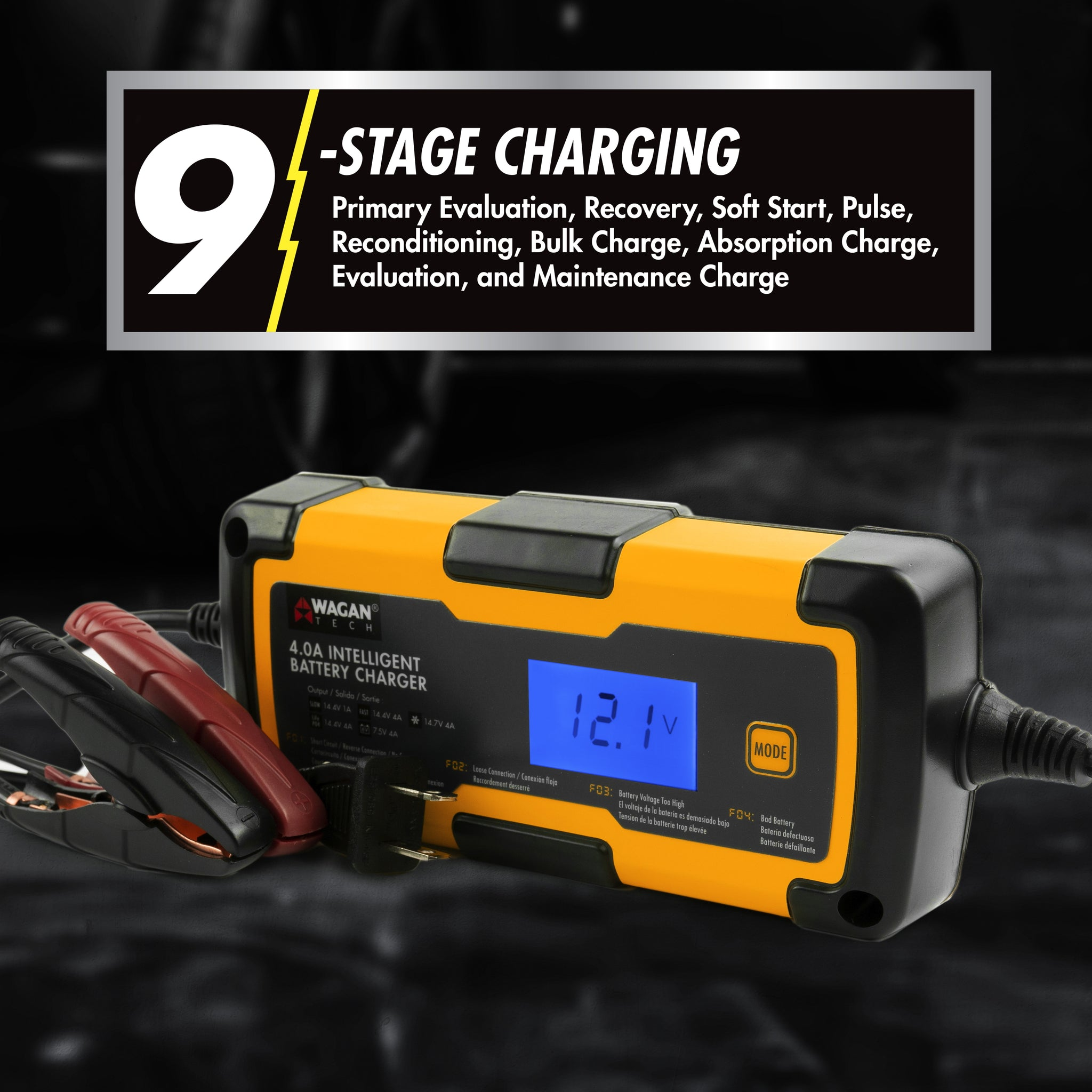 4.0 Intelligent Battery Charger