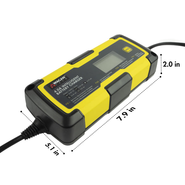 4.0A Intelligent Battery Charger