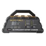Wagan Tech - 8A Intelligent Battery Charger - 9