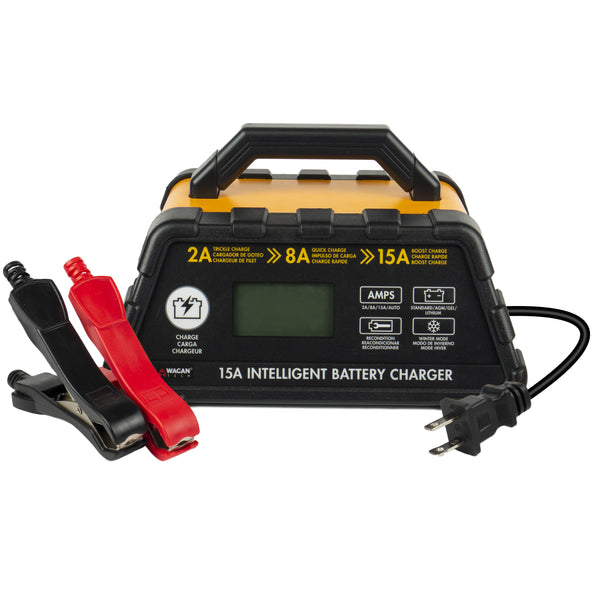 15A Intelligent Battery Charger