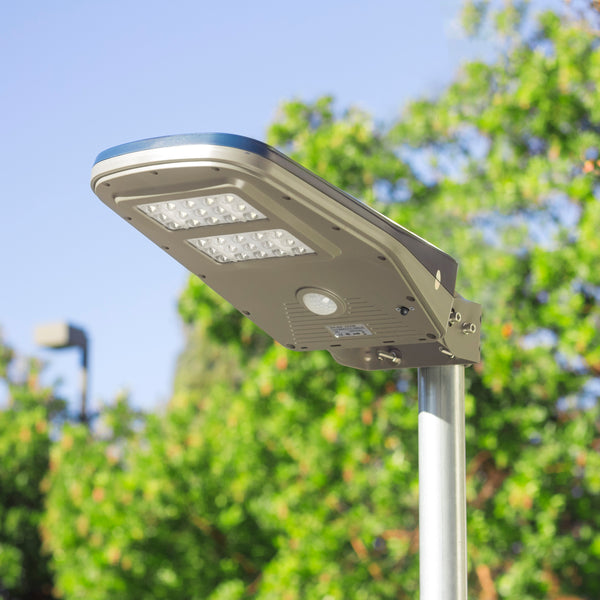 Solar LED outdoor area light v2 - Floodlight - worklight - remote controlled - solar lighting