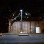 Solar LED outdoor area light v2 - Floodlight - worklight - remote controlled - parking lot