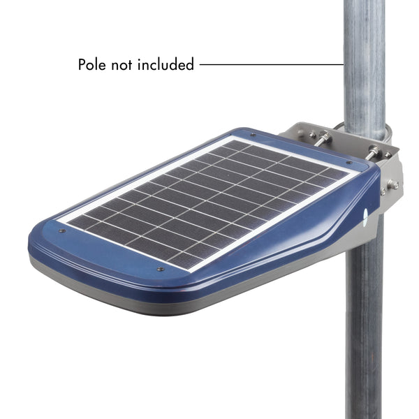 Solar LED outdoor area light - Floodlight - worklight - remote controlled - solar lighting