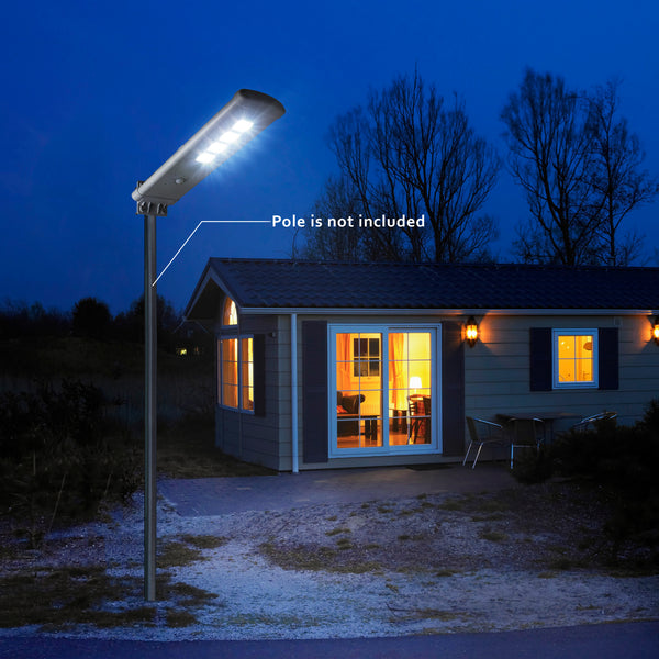 3000 Lumen Solar LED Floodlight