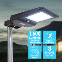 Solar + LED Floodlight 1600