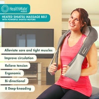 Heated Shiatsu Massage Belt