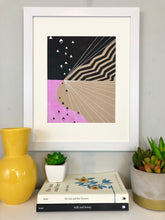 Load image into Gallery viewer, Geometric Print Art