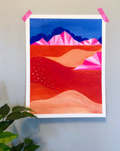 Load image into Gallery viewer, Neon Pink Landscape