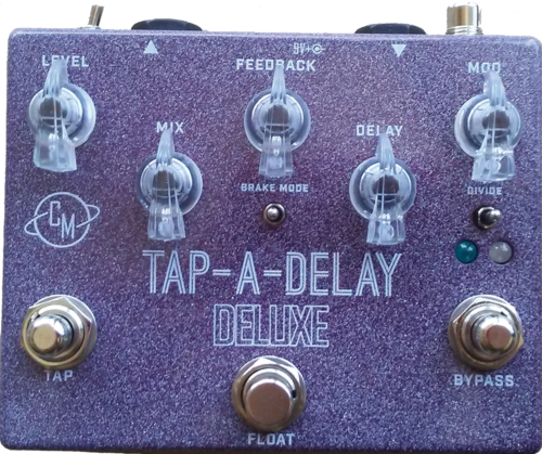 "Cusack Music Tap-A-Delay Deluxe - Tap Tempo Delay w/ ""Float"" Switch"
