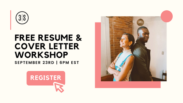 Free Resume and Cover Letter Workshop with 3Skills