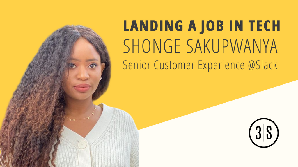 Slack's senior customer experience Shongedzayi Sakupwanya shares 3 tips on landing a job in tech