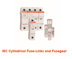 IEC Cylindical Fuse-Links and Fusegear