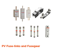 PV Fuse-Links and Fusegear