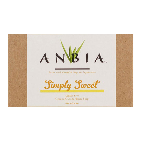 Simply Sweet Certified Organic Oatmeal Bar Soap