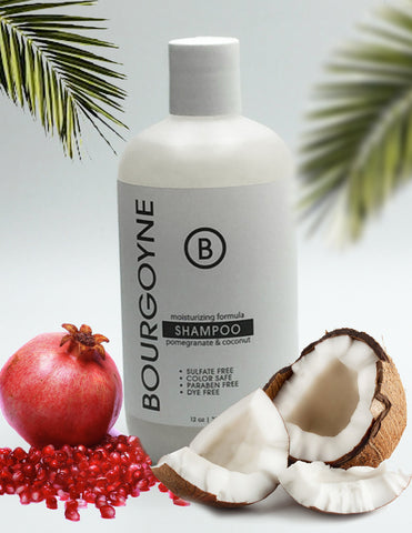 Pomegranate and Coconut Natural Shampoo