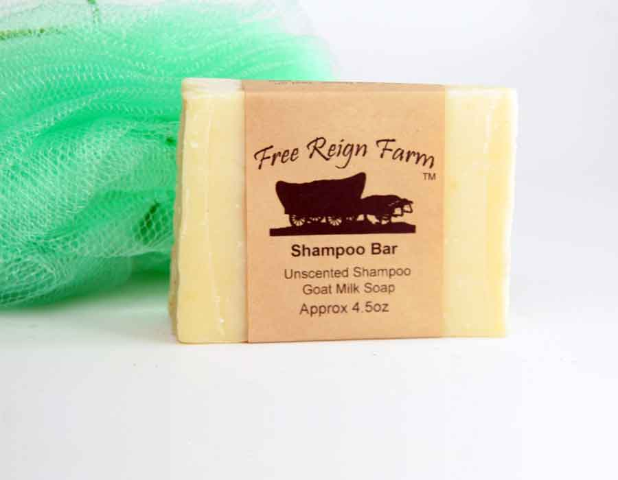 Goat Milk Shampoo Bar - 4 Pack