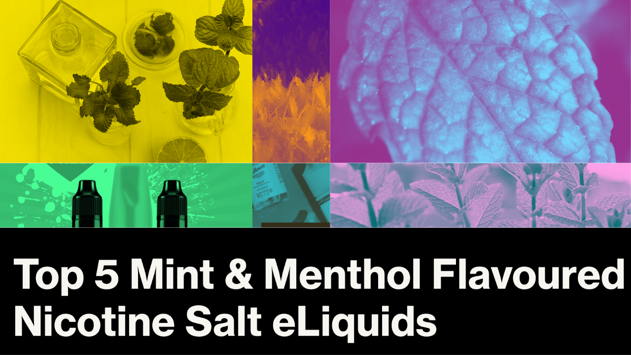 Top 5 Mint and Menthol Flavoured Nicotine Salt eLiquids in NZ