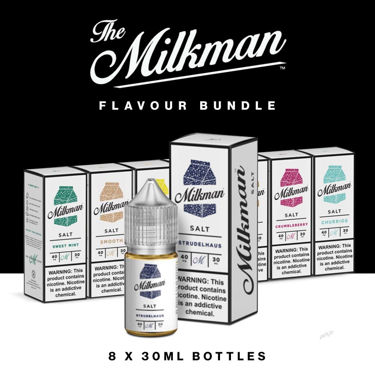 Milkman Salts Flavour Bundle