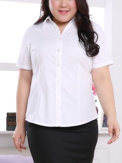 Irsia S/s Business Shirt (EXTRA BIG SIZE)