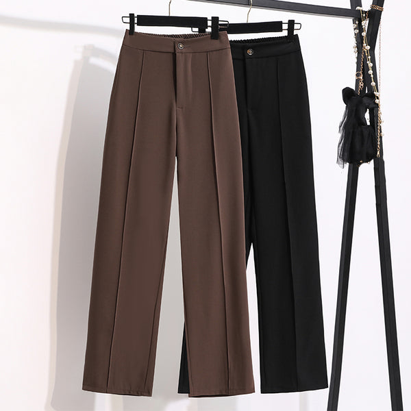 Langston Plus Size Straight Leg Pants