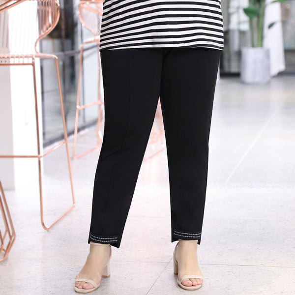 Plus Size Stretch Long Pants (EXTRA BIG SIZE)