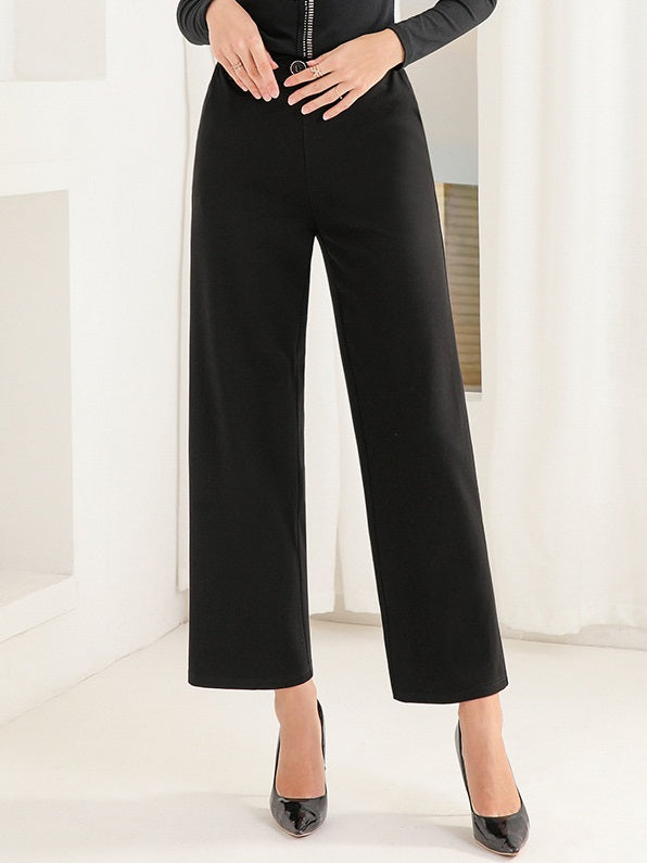 Leana Plus Size Formal Wide Leg Pants