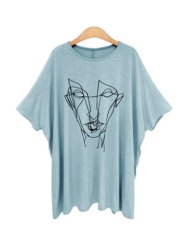 Davya Face Long Tee