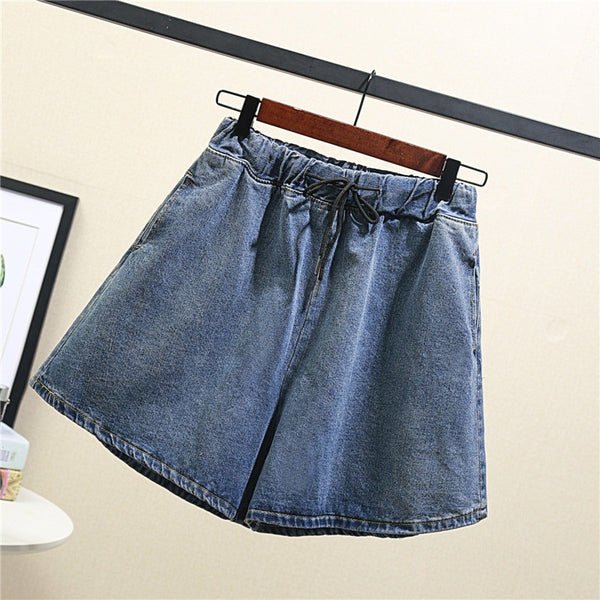 Zilpha Plus Size Denim Shorts