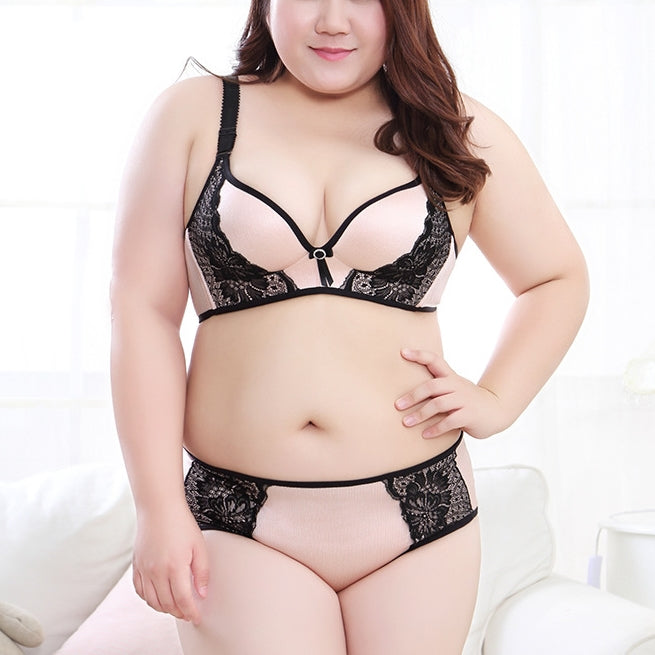Plus Size Wireless Charm Lace Bra