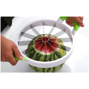 Watermelon Slicer Melon Cutter Knife Stainless Steel Fruit Cutting Slicer