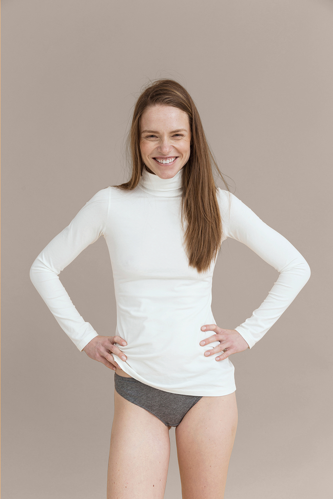 01/07 Organic Cotton Blouse in White