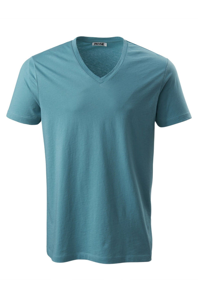 Organic Cotton V-Neck T-Shirt in Different Colors